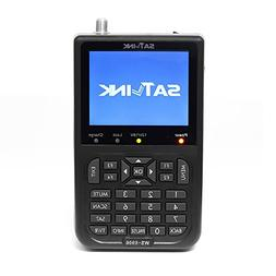 Satlink FTA Sat Finder WS 6906 DVB S Digital Satellite Signa