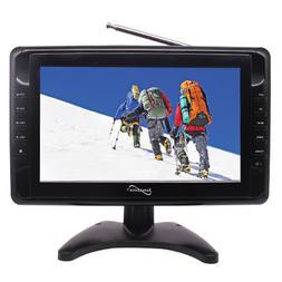 Supersonic SC-2810 10 Portable Digital Widescreen LCD TV USB
