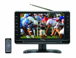 """Supersonic SC-499: 9"""" Portable Rechargeable LCD TV w/ Remote"""