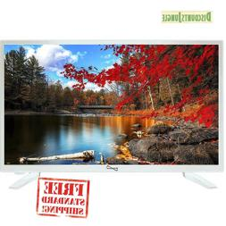 """Supersonic SC-2211-WH White AC/DC HDMI 1080p 22"""" LED Widescr"""