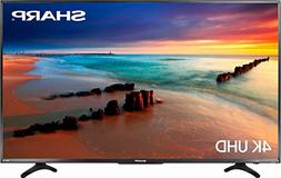 "Sharp 4K UHD LED 2160p Smart TV with HDR Roku TV  - 55"" - Re"