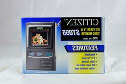 Citizen ST055 Portable LCD TV Video Monitor