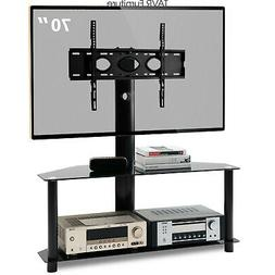 Swivel Floor TV Stand with Mount for 32-70 inch LCD LED Flat