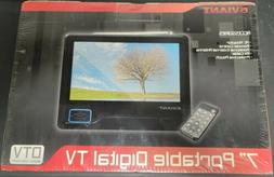 """Eviant T7 7"""" LCD Portable Digital TV, New Sealed!"""