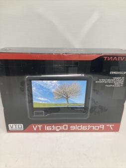 "Eviant T7 7"" LCD  Portable Digital TV New Sealed Box DTV A"