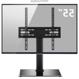 tabletop tv stand base with universal mount