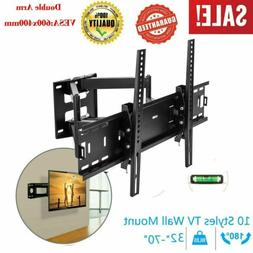 "Tilt TV Wall Mount Stand Bracket for 32-65"" Inch LED LCD Pla"