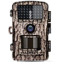 Foxelli Trail Camera – 12MP 1080P Full HD Wildlife Scoutin