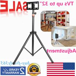 Tripod TV Stand-Television LCD Flat Panel Monitor Mount  US
