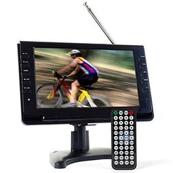 Tyler TTV702-9 Portable Widescreen LCD TV with Detachable A