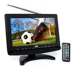"Tyler TTV706: 10"" Portable Widescreen 1080P LCD TV w/ Deta"