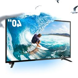 "SANSUI TV 40"" Inch HD LED LCD HDTV 60hz TV w/ USB & HDMI"