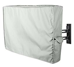 Outdoor TV Cover for 40'' - 42'' Brown Weatherproof Outside