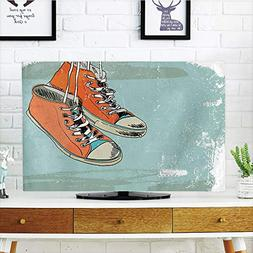 iPrint LCD TV Cover Multi Style,Modern,Old Fashioned Punk Sp