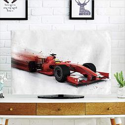 LCD TV Cover Lovely,Cars,Generic compatiblemula 1 Racing Car
