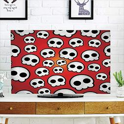 iPrint LCD TV dust Cover Customizable,Skull,Contemporary Ill