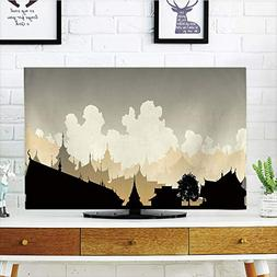 iPrint LCD TV dust Cover Strong Durability,Ancient China Dec