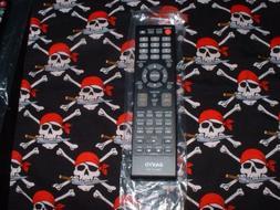 Sanyo LCD TV/DVD Combo Remote Control 076R0SC011 Supplied wi