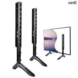 Drsn TV Stand Mount Legs TV Base Pedestal Feet Flat TV Wall
