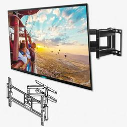 600X400mm Full Motion TV Wall Mount Bracket Tilt Swivel 32-7