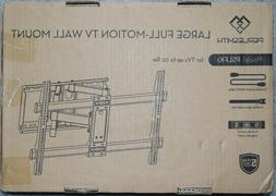 PERLESMITH TV Wall Mount Bracket Full Motion Dual Articulati