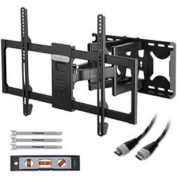 TV Wall Mount Bracket Tilt Swivel for 32-70 Inch LED LCD Fla