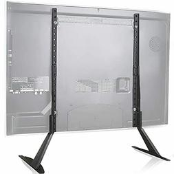 WALI TVS001 Universal TV Stand Table Top for Most 22 to 65 i