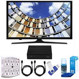 """Samsung UN43M5300 43"""" LED 1080p 5 Series Smart TV Bundle inc"""
