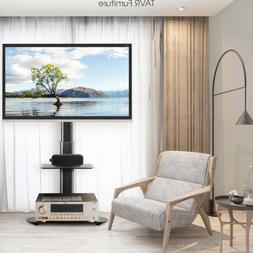 Universal Floor TV Stand with Swivel Mount for 27-55 inch LC