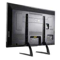 Universal TV Stand Base Tabletop Pedestal Mount LCD LED TV 3