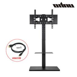 Universal TV Stand Wall Mount Swivel Pedestal Base for 32-65