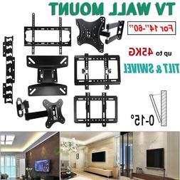 Universal TV Wall Mount Bracket Fixed Flat LCD TV Frame Set