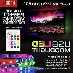 MagicTV USB LED TV Backlight, Moodlight - Remote Control Inc
