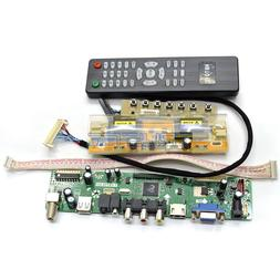 V29 LCD TV Controller Driver Board For SAMSUNG 24 inch WUXGA