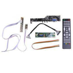 V53 LCD TV Controller Driver Board PC/VGA/HDMI/USB Interface
