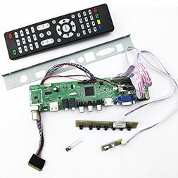 Universal LCD TV Controller Driver Board PC/VGA/HDMI/USB Int