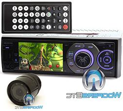 "pkg Soundstream VR-345XB In-Dash 1-DIN 3.4"" LCD Screen DVD S"