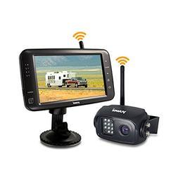 Wireless Backup Camera System, IP69K Waterproof Wireless Rea