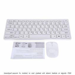 Wireless Keyboard Mouse for JVC LT-55C760 55 Smart LCD TV Wj
