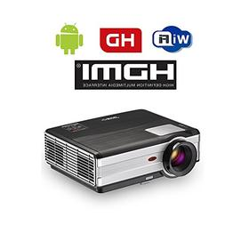 3500 Lumens 1080p Wireless Wifi Video Projector for iPhone S