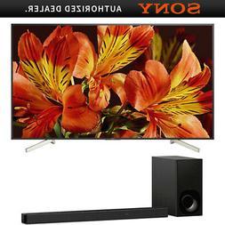 "Sony XBR85X850F 85"" 4K HDR UHD LCD TV 3840x2160 & HTZ9F Dolb"