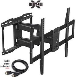 Full Motion TV Wall Mount TV Bracket with Swivel Tilt Articu